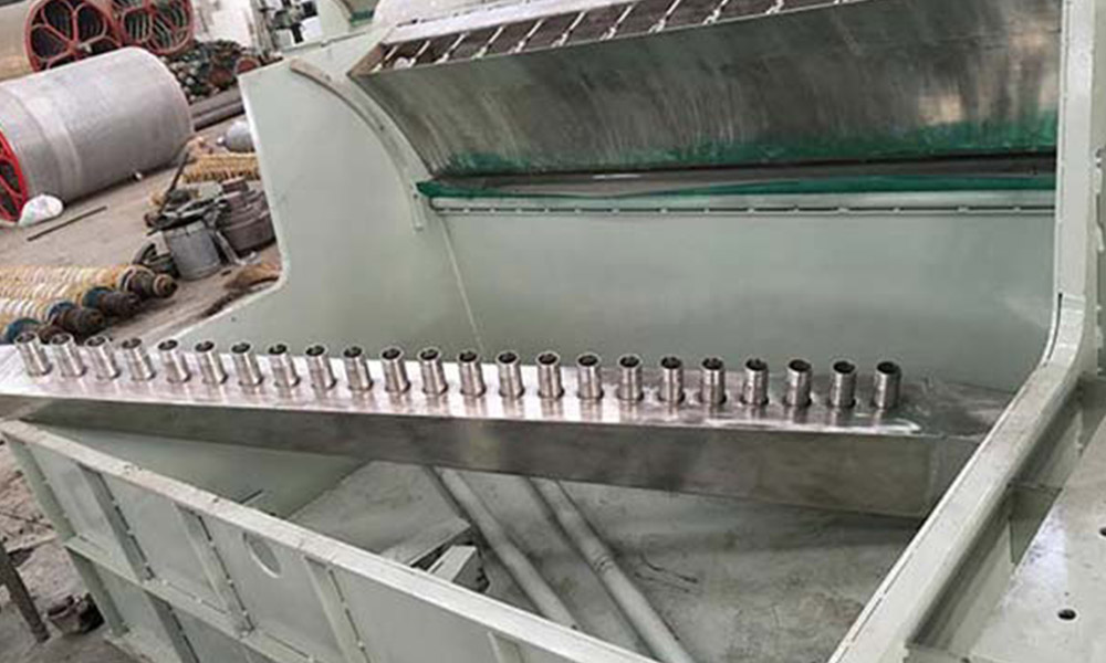 Speed Matched Pulp Trough